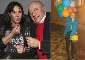 Dcera Patrasové a Slováčka slaví narozeniny