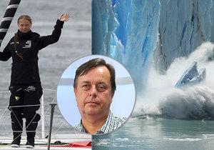 Radan Huth mluvil o globálním oteplování v Epicentru Blesku