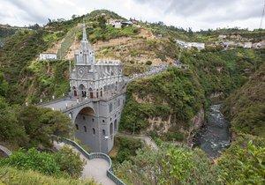 Svatyně Panny Marie z Las Lajas v Kolumbii