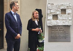 V Praze 1 zavzpomínali na dvě oběti srpnových protestů 1969 v Praze.