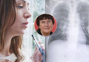 Profesorka Eva Králíková z Centra pro závislé na tabáku při VFN v Praze je k podobným studiím velice kritická.
