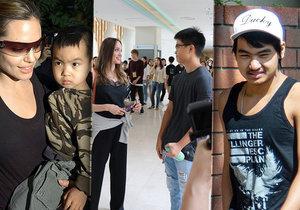 Syn Angeliny Jolie míří na univerzitu