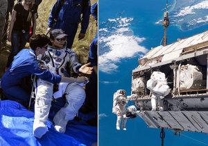 Podezření se vztahuje na astronautku Anne McClainovou.