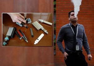 Americké úřady hovoří o prvním případu úmrtí ve spojení s e-cigaretami.