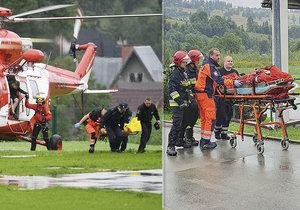 Zásah blesku v polských Tatrách zabil několik lidí