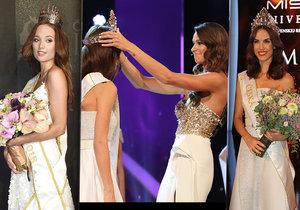 Novou missku korunovala Nikol Švantnerová, Česká Miss 2015, a ne poslední úřadující Lea Šteflíčková.