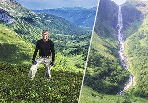 Češi podnikli expedici k nepřístupnému vodopádu: Medvědi, dřina a nezapomenutelná krása!