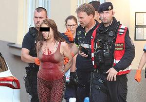 Policisté zadrželi matku ubodaného chlapce. Na místě se pokusila o sebevraždu.
