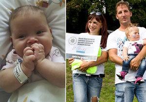 Michalka (1) se narodila s rozštěpem páteře! Po čtyřech dnech musela na operaci
