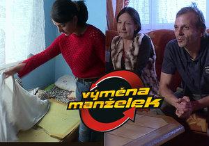 V nejnovějším díle Výměny manželek narazí vyměněná maminka na katastrofální hygienické podmínky v druhé rodině.
