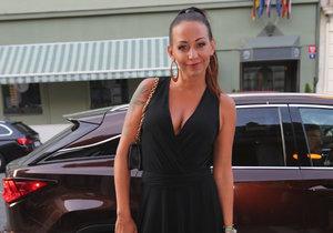 Agáta Prachařová na České Miss
