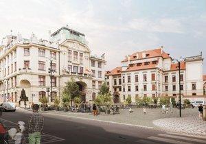 Mariánské náměstí se promění.