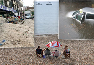 Poslední prázdninový víkend ukončí letní tropy, studená fronta přinese ochlazení a bouřky