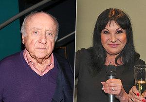 Felix Slováček a Dáda Patrasová