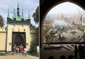 Diorama na pražském Petříně vypadá po náročném restaurování opět k světu.