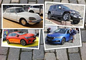 Auta na náplavce se letos vytasila s 28 věhlasnými automobilkami, které prezentují své výtvory.
