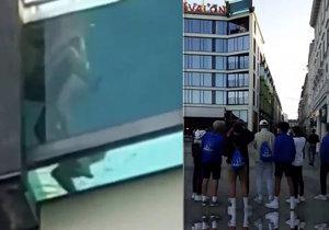 Šokovaní turisté nevěřili svým očím: Dvojice měla sex v proskleném bazénu!