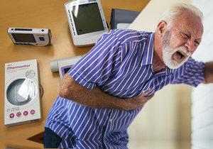 Sada přístrojů na měření tlaku, srdeční a pohybové aktivity a bezdrátový přenos poskytne lékaři aktuální informace o stavu pacienta s hypertenzí. A může mu díky tomu okamžitě upravit dávkování léků.