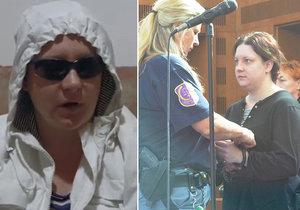 Vražedkyni Janákovou zatkli! Do cely putovala kvůli podezření z křivého obvinění.