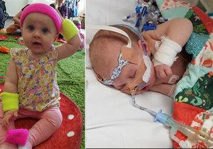 Novorozená holčička bojovala s meningitidou: Lékaři jí namočili hlavu do ledové vody, aby ji zachránili