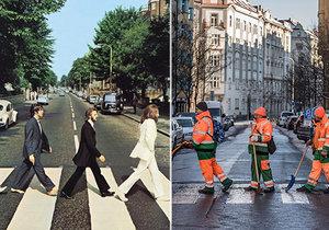 Slavná fotografie Beatles z Abbey Road vznikla 8. srpna 1969.