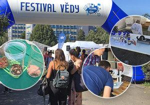 Festival vědy nabídl spoustu zážitků pro malé i velké.