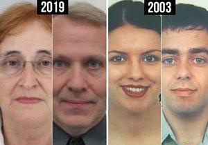 V roce 2003 zmizeli Kadlecovi, v roce 2019 se podobně slehla zem po Marii a Přemyslovi.