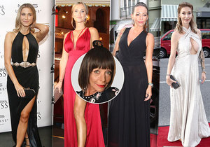 Františka se podívala na zoubek dámám, které dorazily na galavečer České Miss.