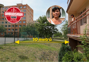 Betonové hřiště kousek od domu: Noční můra paní Miroslavy