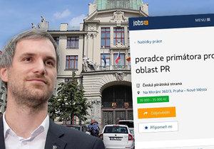 Pražský primátor hledá dalšího poradce.