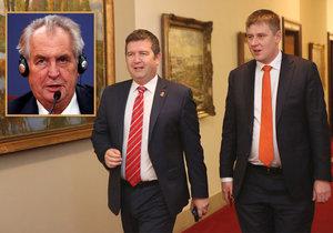 Petříček odmítá oduznání Kosova, lidovci se nebrání. Hamáčka Zeman nepřekvapil.