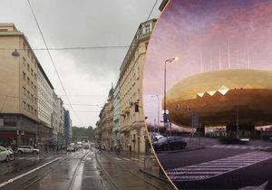 Co bude dál s nábřežím v Praze, kde mělo stát Zlaté vejce?