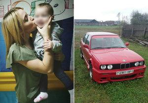 Šílená smrt mladé maminky Julie (†21): Zabila ji vlastní dvouletá dcera!