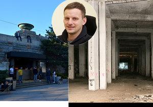 Firma, v níž figuruje noční starosta Jan Štern, provozuje na Letné pod Stalinem kulturní centrum.