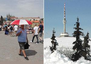 Výrazné ochlazení přinese přízemní mrazíky i první sněžení.