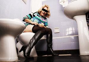 Žena byla na toaletě uvězněná šest dní.(Ilustrační foto)