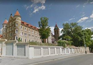 Klášter sv. Gabriela na Smíchově.
