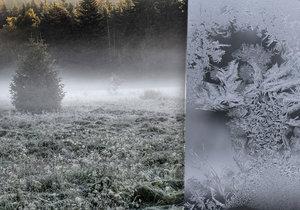 Do Česka míří první mráz. Teploty spadnou až k minus 7 °C, varují meteorologové