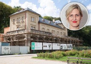 Podle Hany Třeštíkové chtělo uzavřené výběrové řízení na provozovatele Šlechtovy restaurace představenstvo Obecního domu.