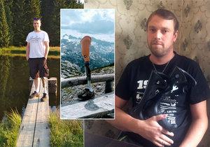 20 let žil Vladimír bez nohy. Statečně nesl svůj úděl, nestěžoval si. Než mu osud do cesty přimetl další komplikace - zloděje, který mu ukradl jak vůz, tak i moderní elektronickou protézu.