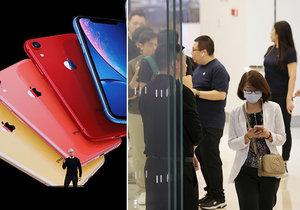 Apple iPhone 11 pobláznil svět. Zákazníci čekali na nové mobily celou noc