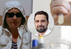 Odborník na asistovanou reprodukci popsal, jak mohla vražedkyně Petra Janáková ve vazební věznici otěhotnět.
