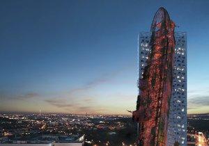 Takto má vypadat nová nejvyšší budova Česka - Top Tower v Nových Butovicích.