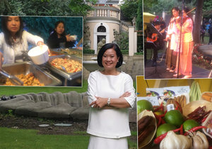 Velvyslankyně Thajského království Ureerat Chareontohová pozvala Pražany na atypickou garden party. A nestačila se divit! Zájem veřejnosti byl totiž daleko za očekáváním.
