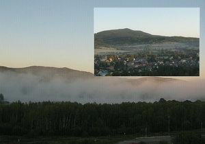 Na Šumavě bylo ráno až minus šest stupňů Celsia. Chladno bylo na celém jihozápadě