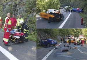 """Řidič """"mustangu smrti"""" promluvil o honičce: Rodině mrtvého řidiče poslal vzkaz"""