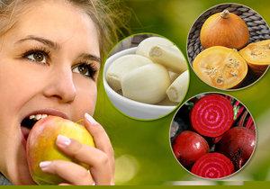 Řepa, dýně, česnek: 7 superpotravin, které nakopnou váš organismus, a natrháte je na zahradě.