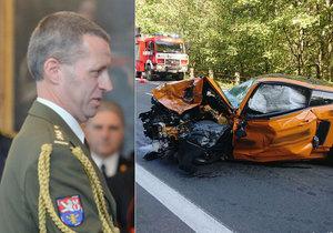 Mustang u Špindlu zabil významného generála! Obětí je Milan Jakubů (†49)!