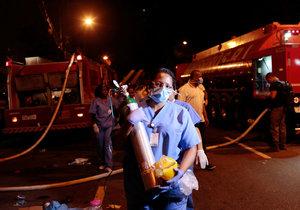 Smrt v plamenech: Osm kojenců zemřelo při požáru porodnice!