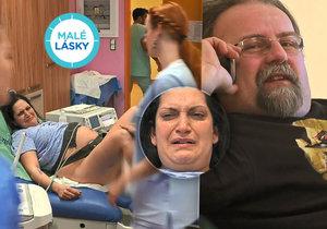 V Malých láskách dojde na dramatický moment, rodičku čeká operace...